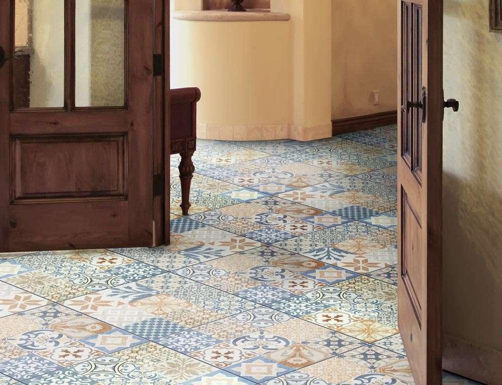 Ambiente cozinha r stica piso 56018 grupo cristofoletti for Ceramicas rusticas para pisos