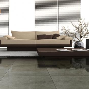 Ambiente sala piso 45822 Concret Grigio