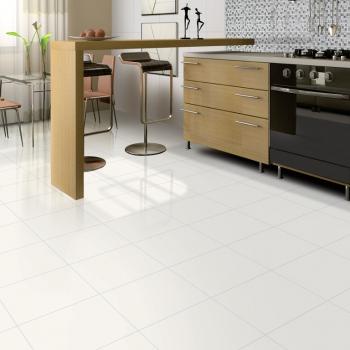Ambiente piso 56501 Classico Blanc e revestimentos 32501/HD3217 Vitro Nero