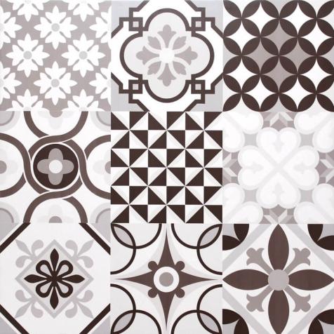 Porcelanato 61028 Patchwork Grigio