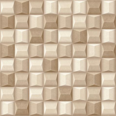 Porcelanato 61037 cement cubo bege