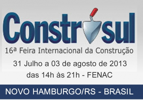 Feira Nacional Construsul 2013