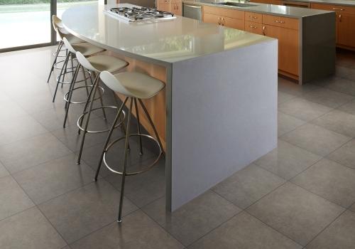 Ambiente cozinha porcelanato 61010 Cement Grigio