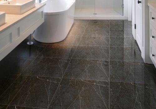 Ambiente banheiro porcelanato 61048 Marble Graphite