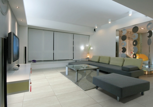 Ambiente sala porcelanato 61510 Siena