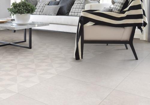 Ambiente porcelanato 61024 Cement Grigio Pure e 61012 Cement Grigio Molino
