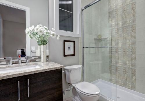 Ambiente banheiro HD3262 Absolut Grigio e HD3265 Vanguard