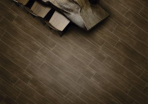 Ambiente sala piso HD25001 Legno Nogal