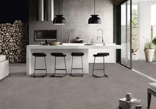 Ambiente cozinha piso HD51012 Detroit Gray