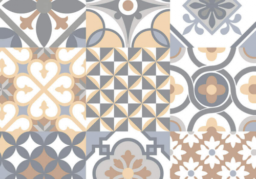 Porcelanato 61029 patchwork colorato