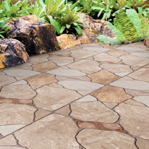 Área externa piso 56075 Stone Color