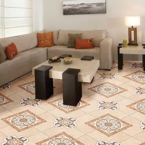 Ambiente sala piso 45708 GEOMETRIC MARBLE BEGE