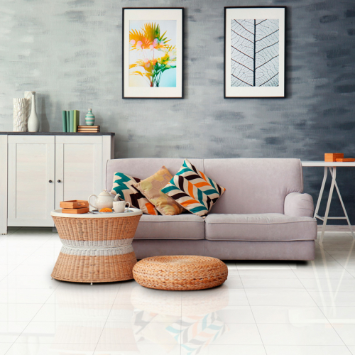 Ambiente sala piso 56010 Classic bianco