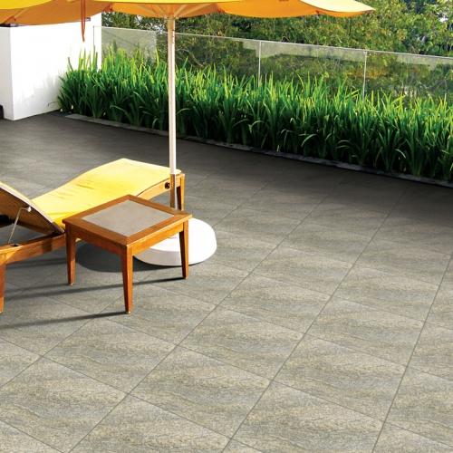 Ambiente externo piso 56042 Granito Chiara