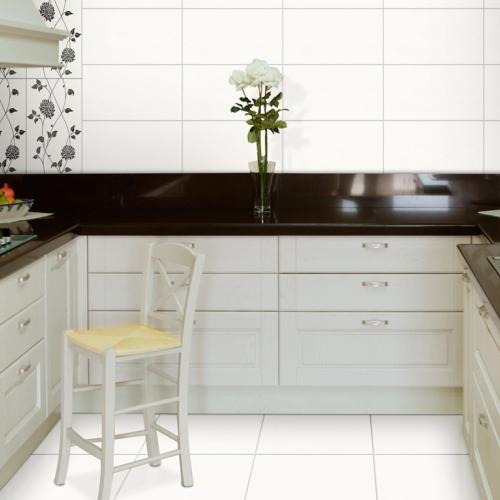 Ambiente piso 56010 Classic Bianco revestimento 32001 Classic Bianco