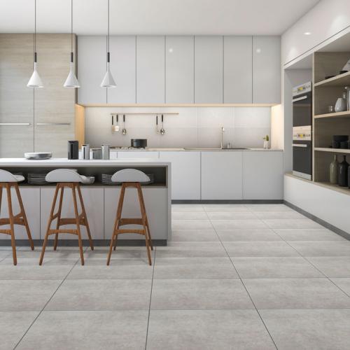 Ambiente piso 56078 Cimento Grigio Urban e revestimento R31220 South