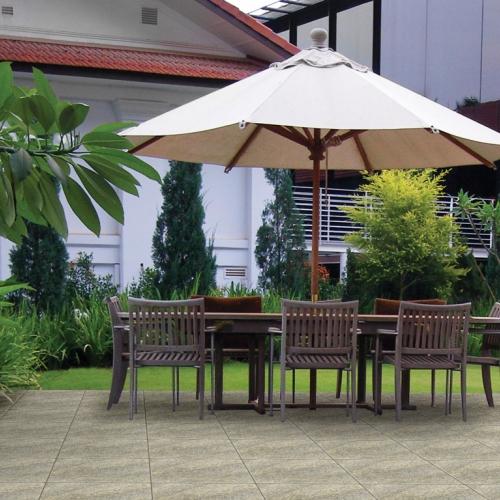 Ambiente varanda externa piso 56042 Granito Chiara
