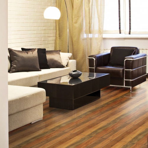 Ambiente sala com piso 45515 Wood Multi Color