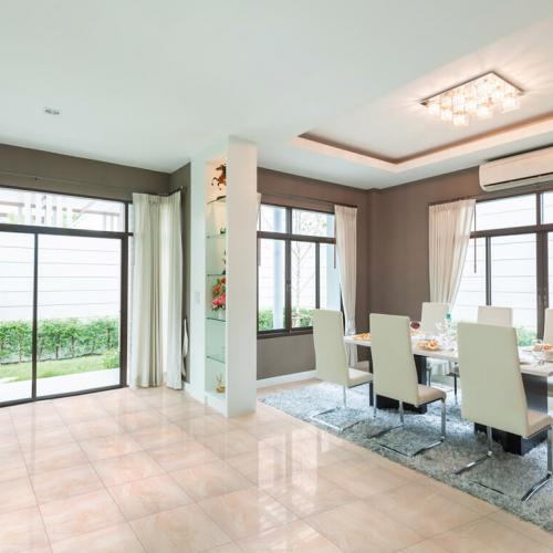 Ambiente sala piso 45345 Marble Rosé