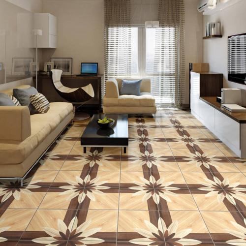 Ambiente Sala piso 45516 Wood Geometric