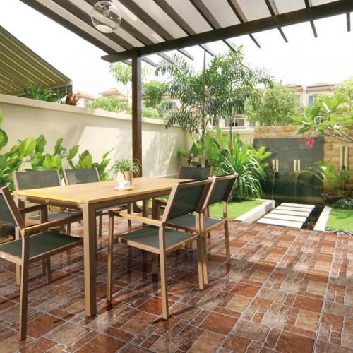 Ambiente externo piso 56065 Stone Multi Color
