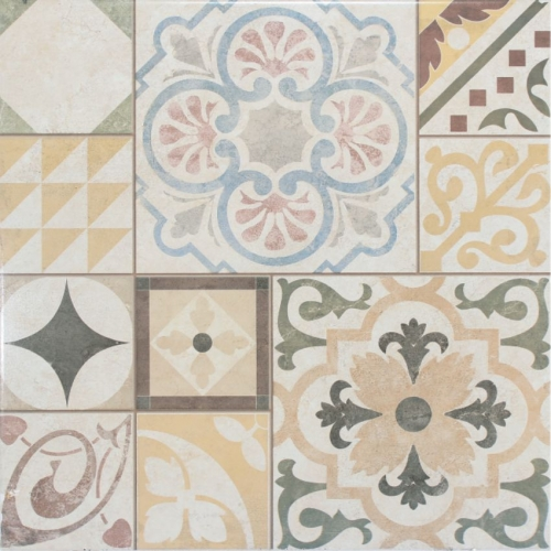 Piso 56045 PATCHWORK MARFIL