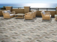 Ambiente externo piso 56017 Stone Mix