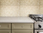 Kitchen environment with wall tile HD3251 Pastilha Marmo White