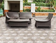 External environment floor tile 56046 Stone Via Livorno