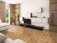 Ambiente piso 45509 Wood Mosaic