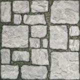 Floor tile 45414 Stone Grass