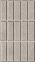 Wall tile HD3282 Brick Chrome Cinza